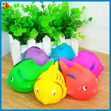 Qualified wholesale for sale vinyl fish toy eyes pop out