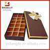 Customized candy box chocolate box with paper inset