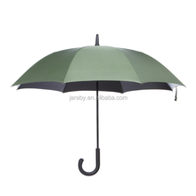 high quality custom fiberglass automatic straight rain umbrella