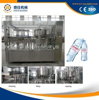 Automatic PET bottle mineral water packing factory