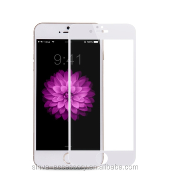 Sinva cheap price ultra clear 0.15mm colour and design colour 9H tempered glass for iphone 6