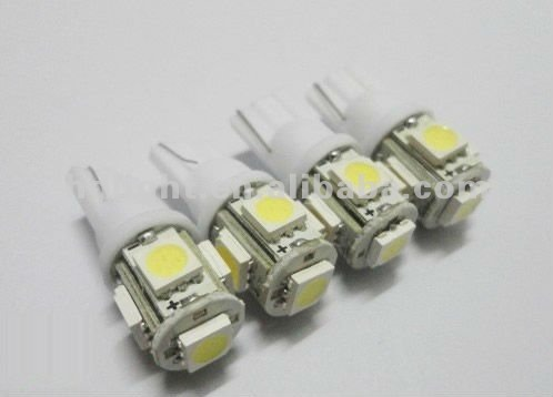 T10 194 2825 168 158 152 159 W5W 3652 921 501 5SMD 5050chip led light car