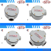 IP55 protection level and weather proof round junction box