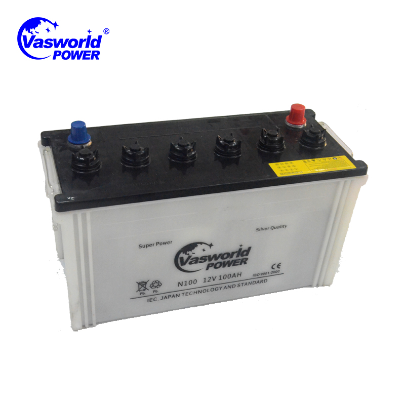 No Scrap12v Dry Cell Rechargeable N100 Car Battery