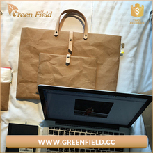 Factory Price wholesale kraft paper 13.3 inch lightweight laptop tote bag