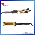 Gold 24K Barrel Cheap 3 Barrel Curling Iron