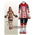 Final Fantasy XI 11 White Mage Cosplay Costume Suit Adult Halloween Carnival Cosplay Costume Custom Made