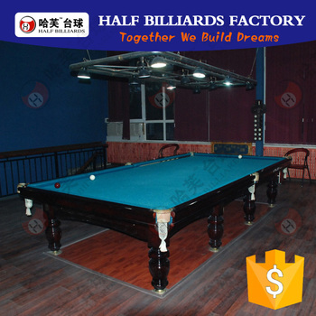 Cheap solid wood black russian billiard table for sale for 12ft snooker table for sale