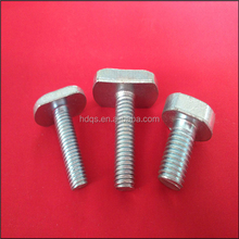 Channel T bolt 4.6 and 8.8 grade with black ,zinc plated and HDG surface finish