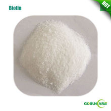 High Quality Pure Biotin / Vitamin B7