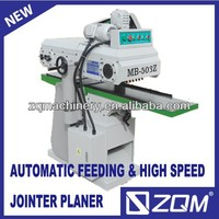 Automatic feeding woodworking high-speed planer machine