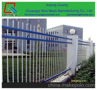 wrought Iron fence, metal fence/flower garden fencing manufacturer