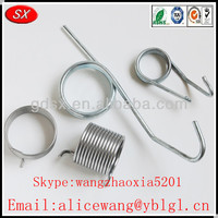 Customized steel torsion spring garage door,torsion spring roller,torsion spring for switch in Dongguan ,ISO9001/RoHS