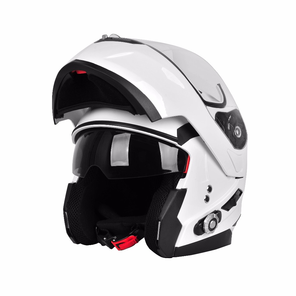 Bluetooth Helmet Motorcycle Use 300M Wireless Bluetooth Intercom Helmet with 300m Wireless Intercom Function
