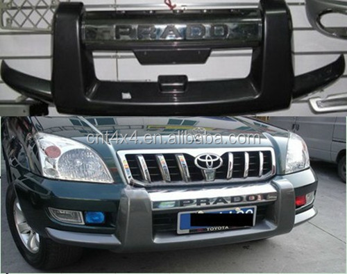 PRADO120 4x4 skid plates bumper protection covers