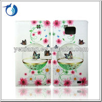 For Samsung Galaxy S2 Ultra-Slim Top Flip Cute Cartoon Design Leather Protective Case i9100