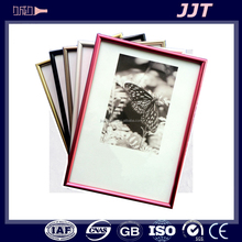 fashionable 6063 aluminum alloy photo frame with accessories