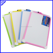 Cheap small a4 size children magnetic whiteboard