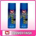 Super Effect, Free Sample, multi-color and color customized Hammer effect aerosol Spray Paint