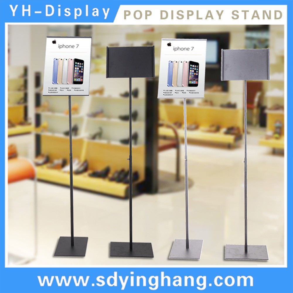 aluminum menu display frame a4 size poster sign holder notice board
