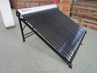 Evacuated tube solar collector system, vacuum tube solar collector for solar water heater