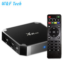 2018 Best Cheap Top Quality Original Android 7.1 X96 MINI Amlogic S905W 1+8gb Android TV Box and <strong>Remote</strong>