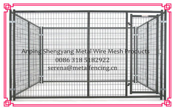 hot galvanized welded dog kennel panels