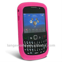 Silicone cover skin for blackberry 8520