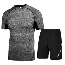 Gym Clothes Fitness 2 Piece Set New Design Low Price Sports Wear For <strong>Men</strong>