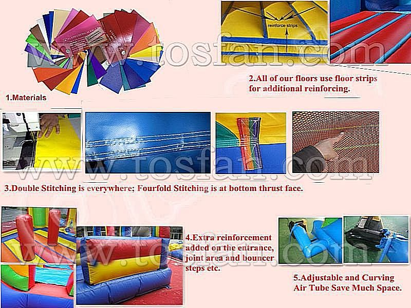 Children jump inflatable bouncers A1168