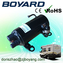 auto roof top mounted air conditioner for truck van with zhejiang boyard r134a r410a ac rotary compressor horizontal
