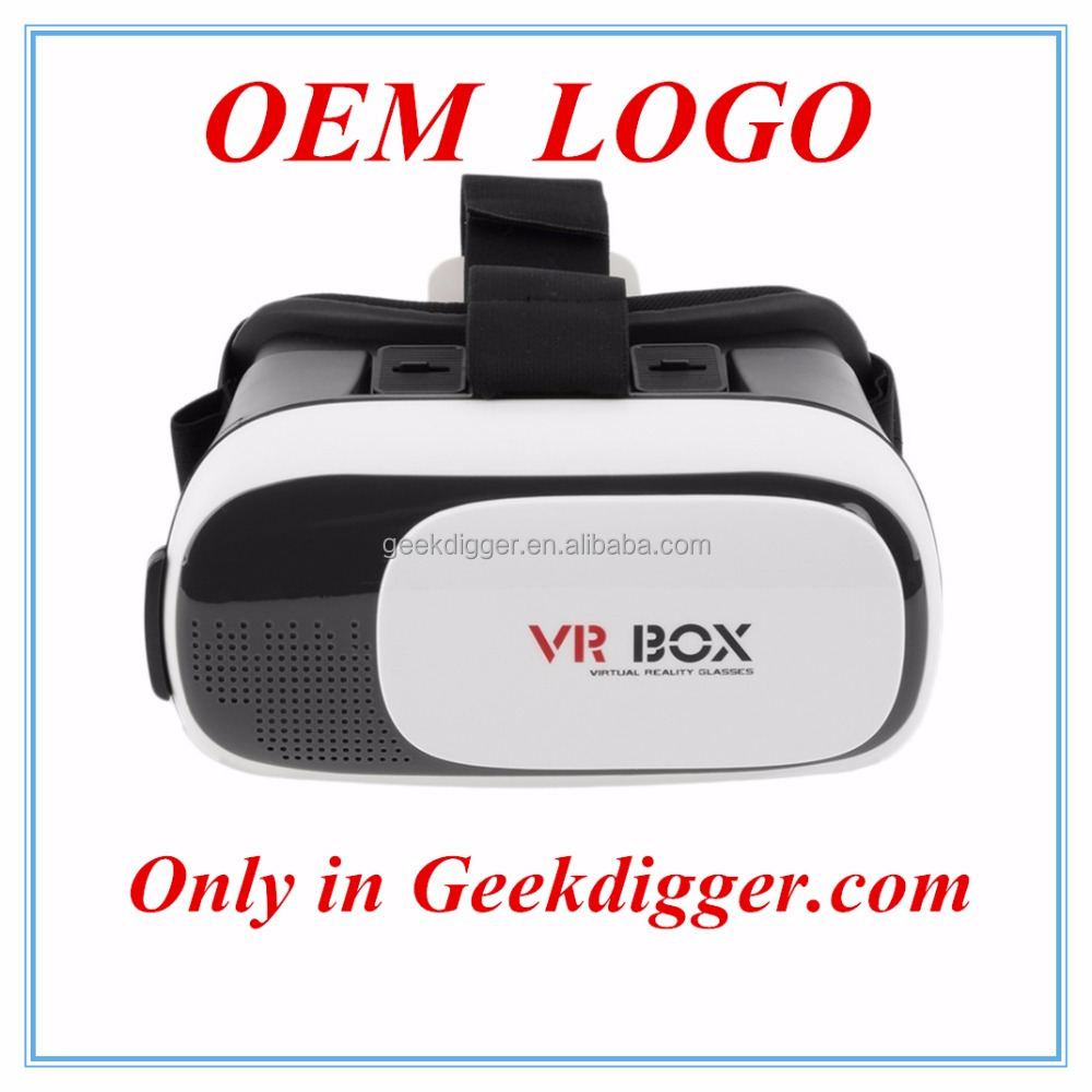 OEM LOGO VR BOX 2.0 Version Virtual Reality Glasses VR BOX & Google cardboard OEM LOGO low quantity
