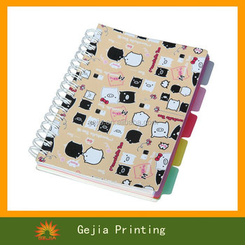 Spiral Notebook With Elastic
