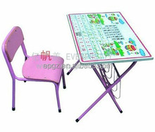 Cheap Kid's Study Table, Wholesale Kid's Drawing Desks, Children Folding Desk for Sale