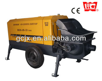 CE trailer mounted concrete pump