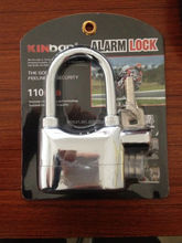 high safe long length shackle office glass door alarm padlock