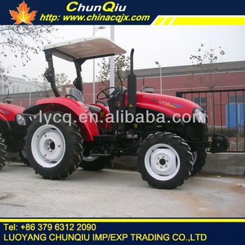 YTO brand 50 hp 4wd model 504 agricultural tractor