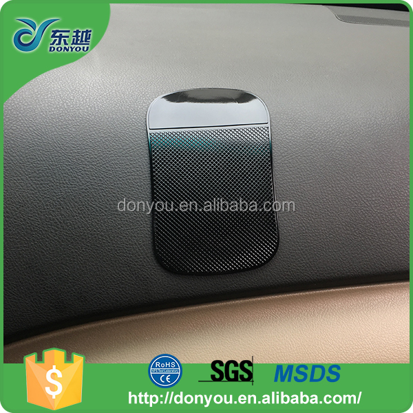 Car dashboard accessories rubber anti slip stick gel pad