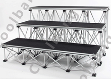 Lates style easy install DIY aluminum portable truss <strong>stage</strong> for exhibition