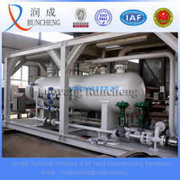 Resistant to sulphide well test separator anti H2S separation machine for oil gas field