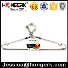 windproof metal stainless steel clothes hanger