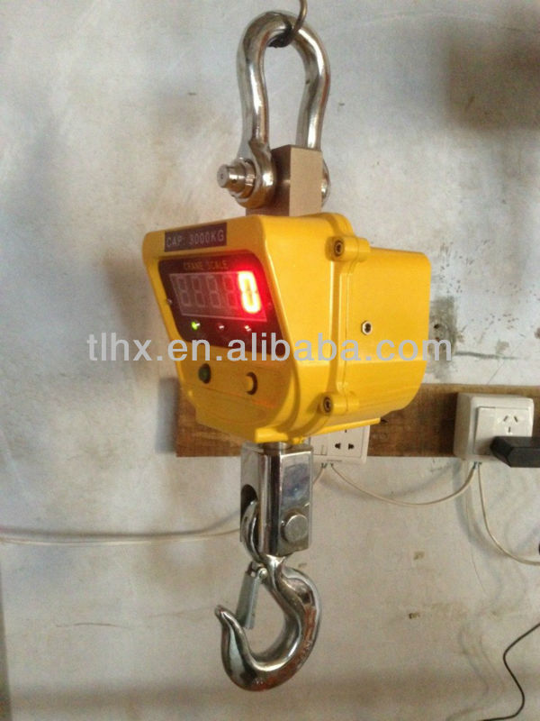 Electronic Scale Wireless Crane Scale (Lifting Weight 0.5T to 5T)