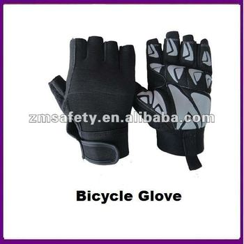 Silicon Palm Half Finger Cycling Bike Bicycle Glove ZMR396