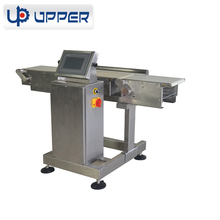 online check weigher machine check weighing of food ,snack