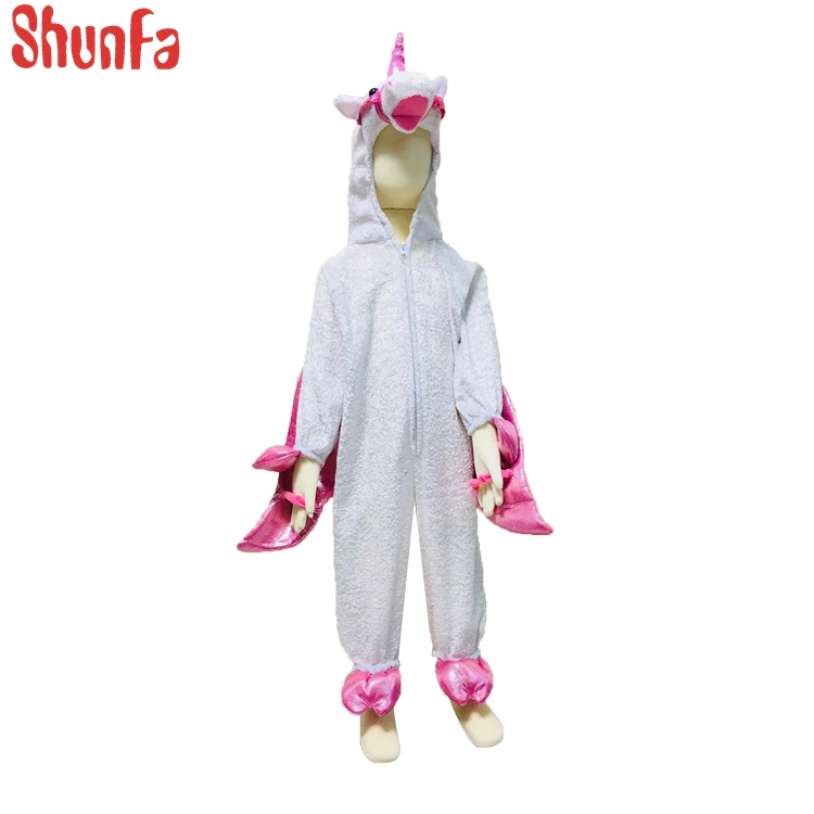 Real-time quotes plush animal pegacorn mascot costume