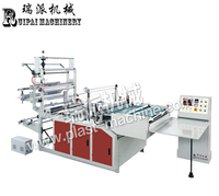 BOPP/OPP/PP heat cut side seal machine plastic bag maker