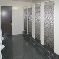Brand new wholesale manufacturer toilet cubicle accessories wood bathroom partitions with low price