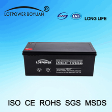 power safe battery 12v silicone gel battery Alibaba china supplier