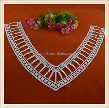 Fashion V-Shape crochet cotton lace neck collar
