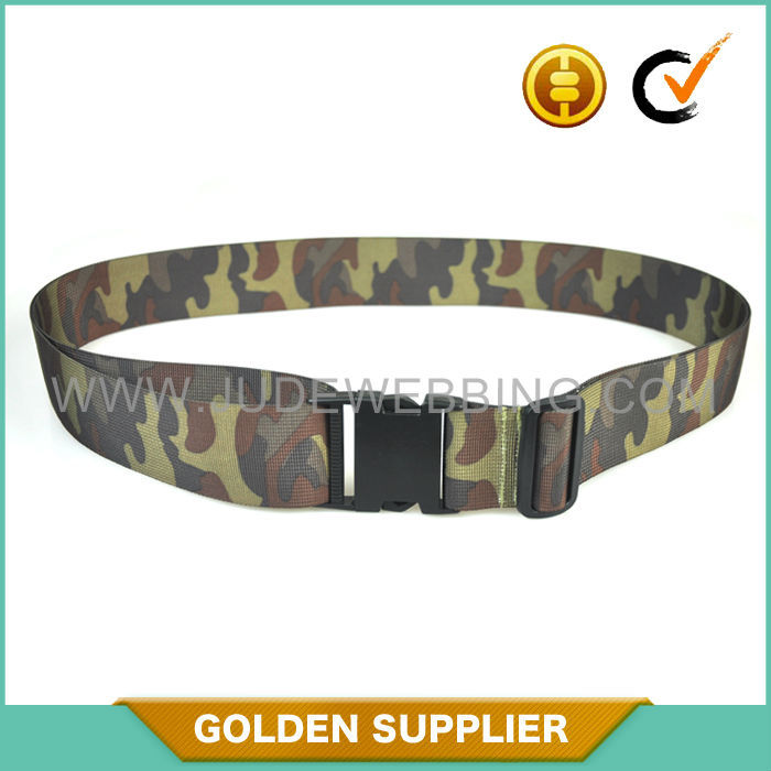 durable personalized military canvas webbing belts